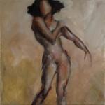 Peinture à l'huile, nu, montreuil-bellay, femme, peintre