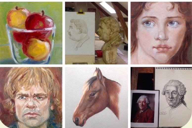 Cours et stages de dessin et peinture à Montreuil-Bellay, Pays de Loire
