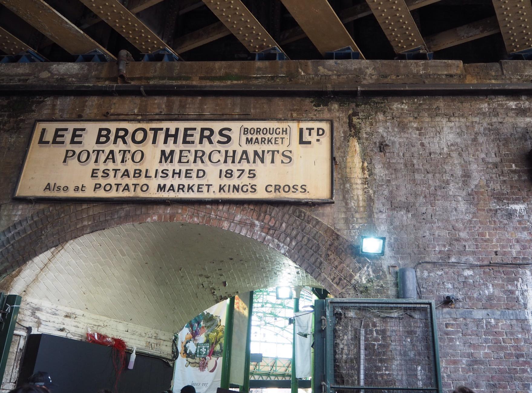 Borough market, London, photographie Caroline Dodin