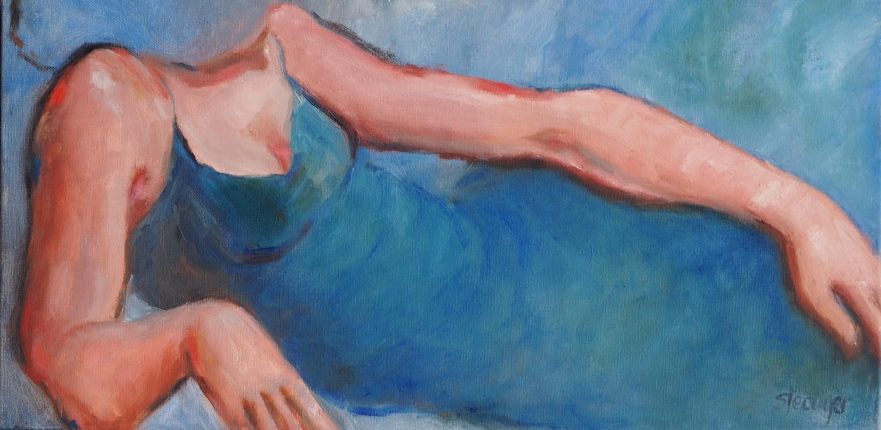 Gaïa, peinture à l'huile, femme, déesse grecque