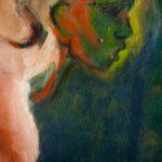 Ce qui est en nous, Stéphanie Lécuyer, peinture à l'huile, peinture figurative, couleur, ,